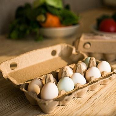 【远谷庄园】柴鸡蛋 林间散养 - 10枚/盒